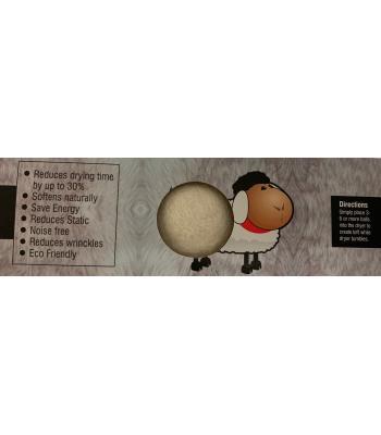 FELT DRYER  BALL  (LAUNDRY )