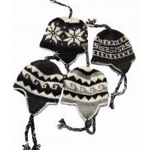 Mixed Natural Color Woolen Hats Assorted
