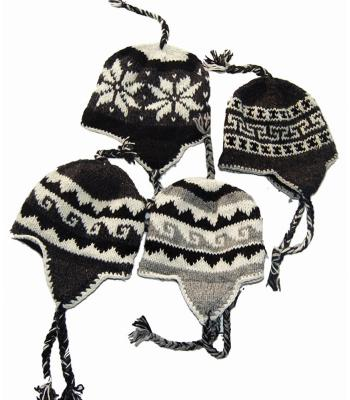 Mixed Natural Color Woolen Hats Assorted