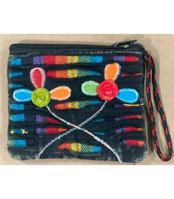 Cotton Emb Coin Purse