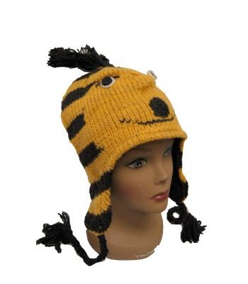 Bee Woolen Hat