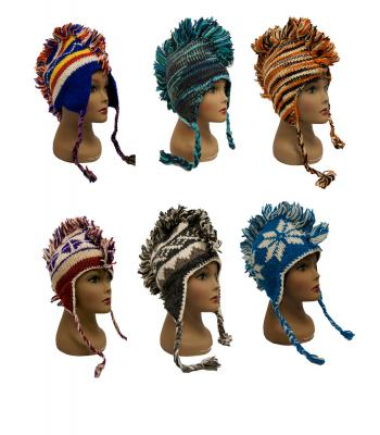 RI1142 Assorted Mohawk Hats